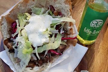 Falafel fechado em Berlim
